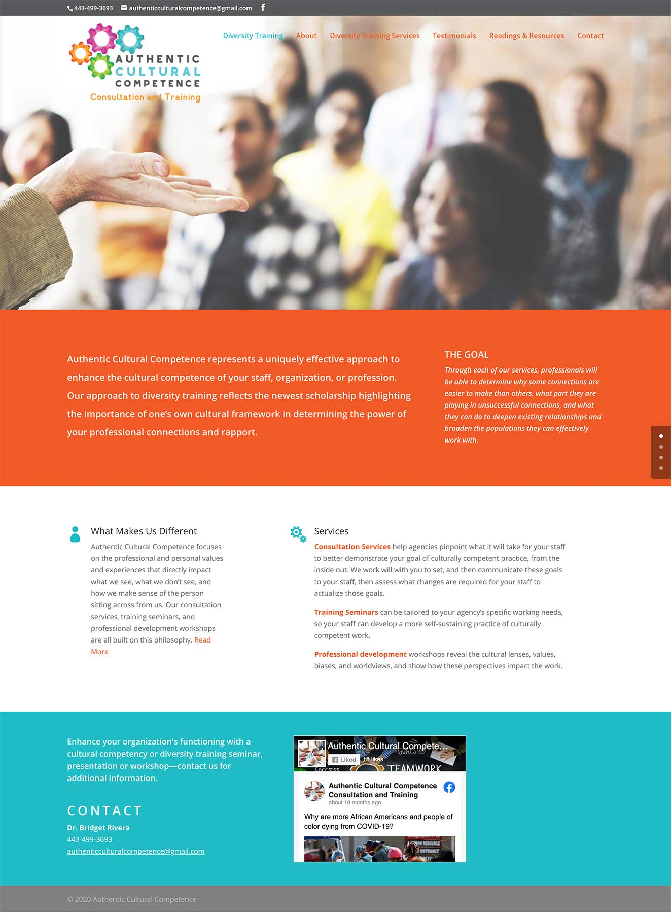 Responsive Website Design for Authentic Cultural Competence
